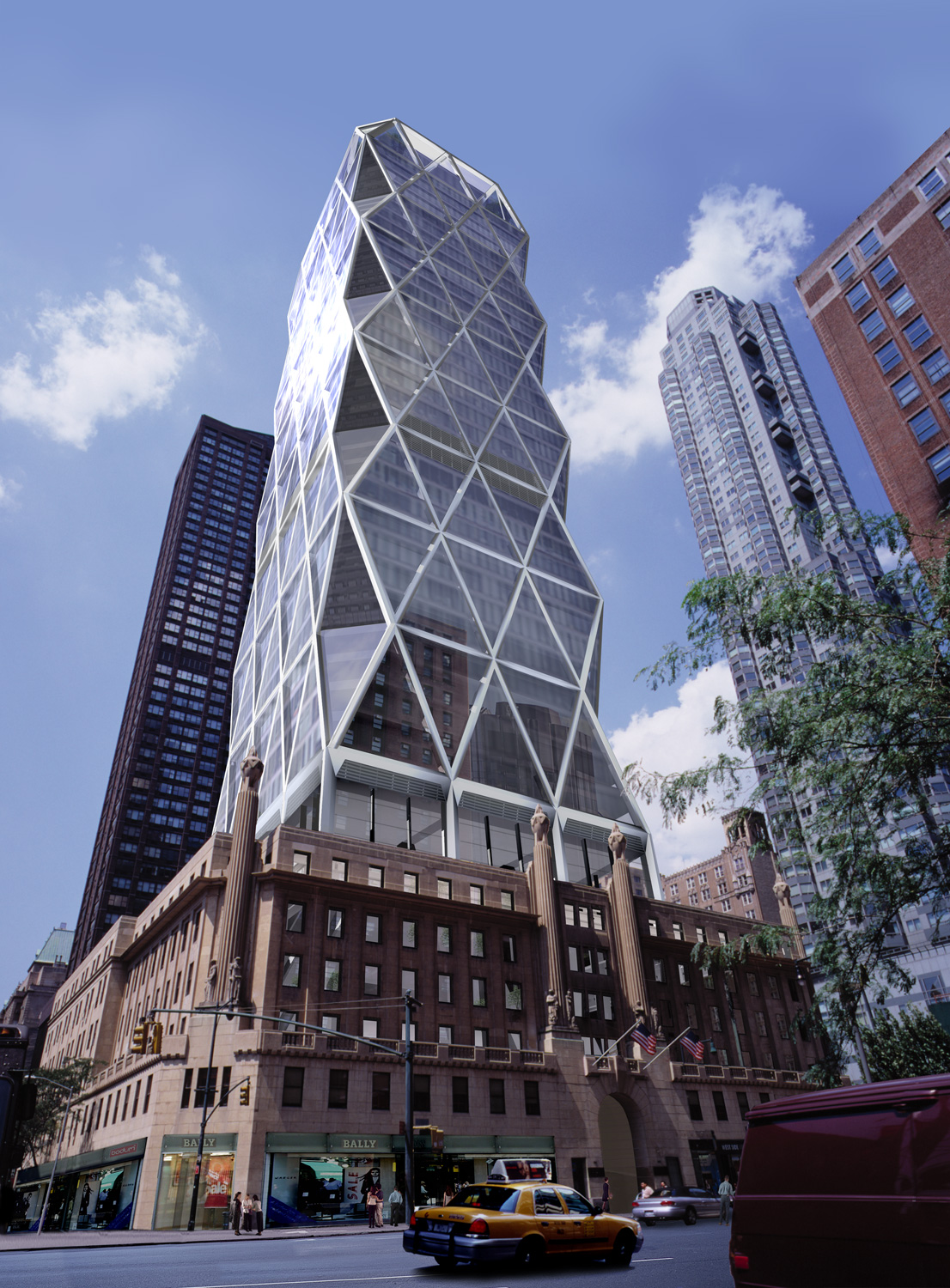 Hearst Tower New York Flashforward