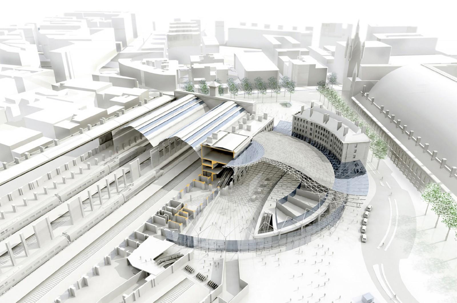 Flashforward - Kings Cross Station London