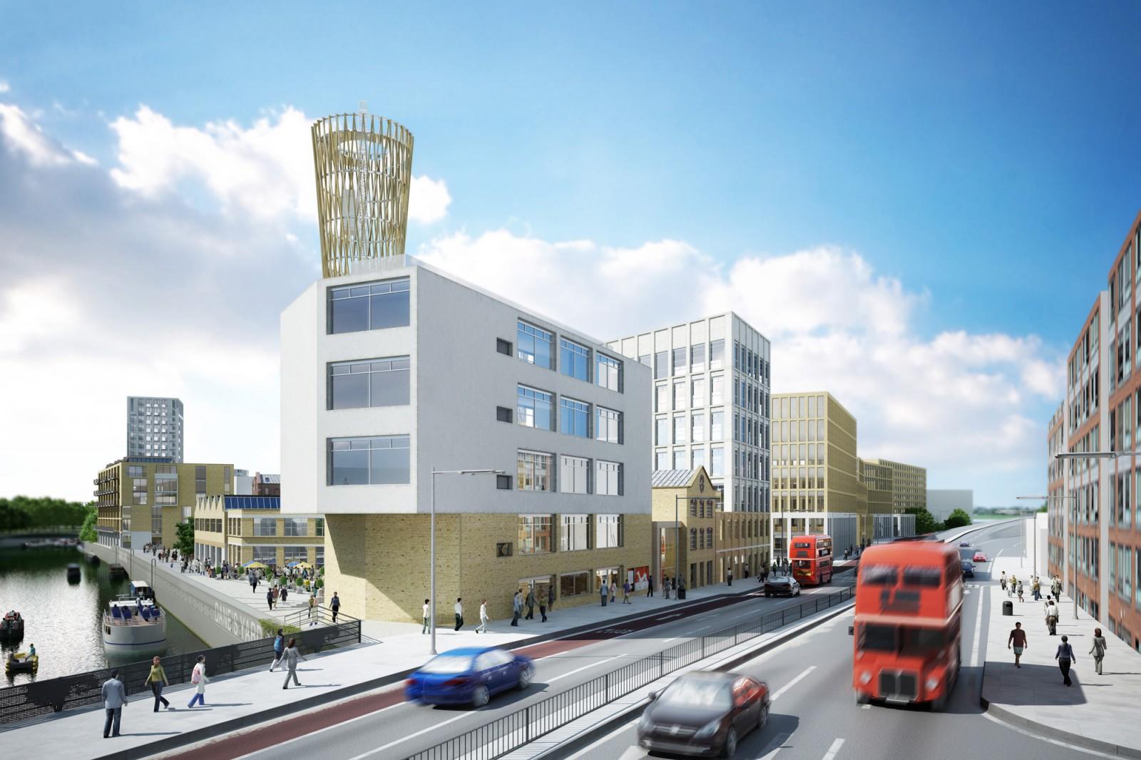 Flashforward - Danes Yard Masterplan East London