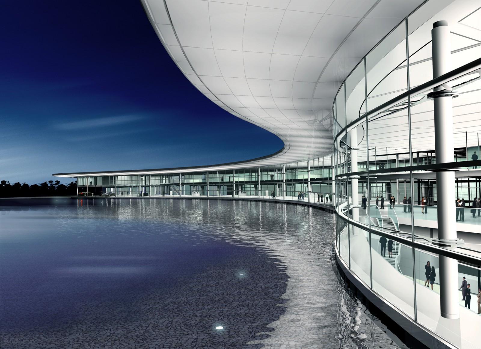 Flashforward - McLaren Technology Centre