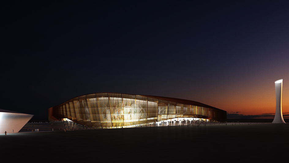 Flashforward - Saudi Stadium
