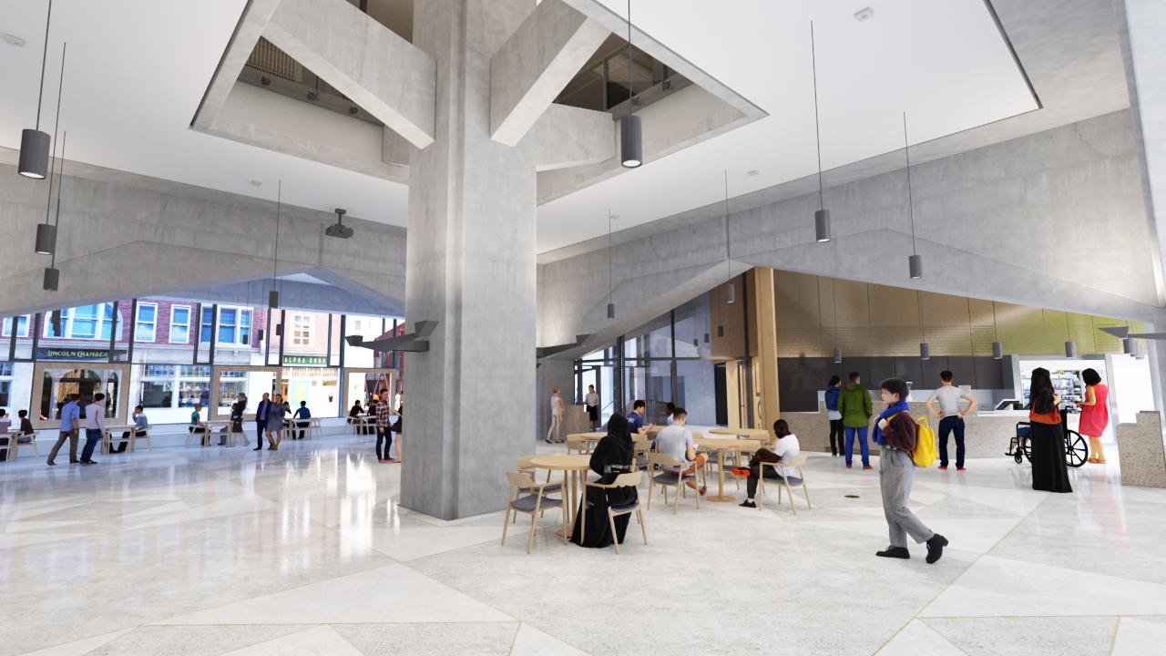 Flashforward - LSE Marshall Building