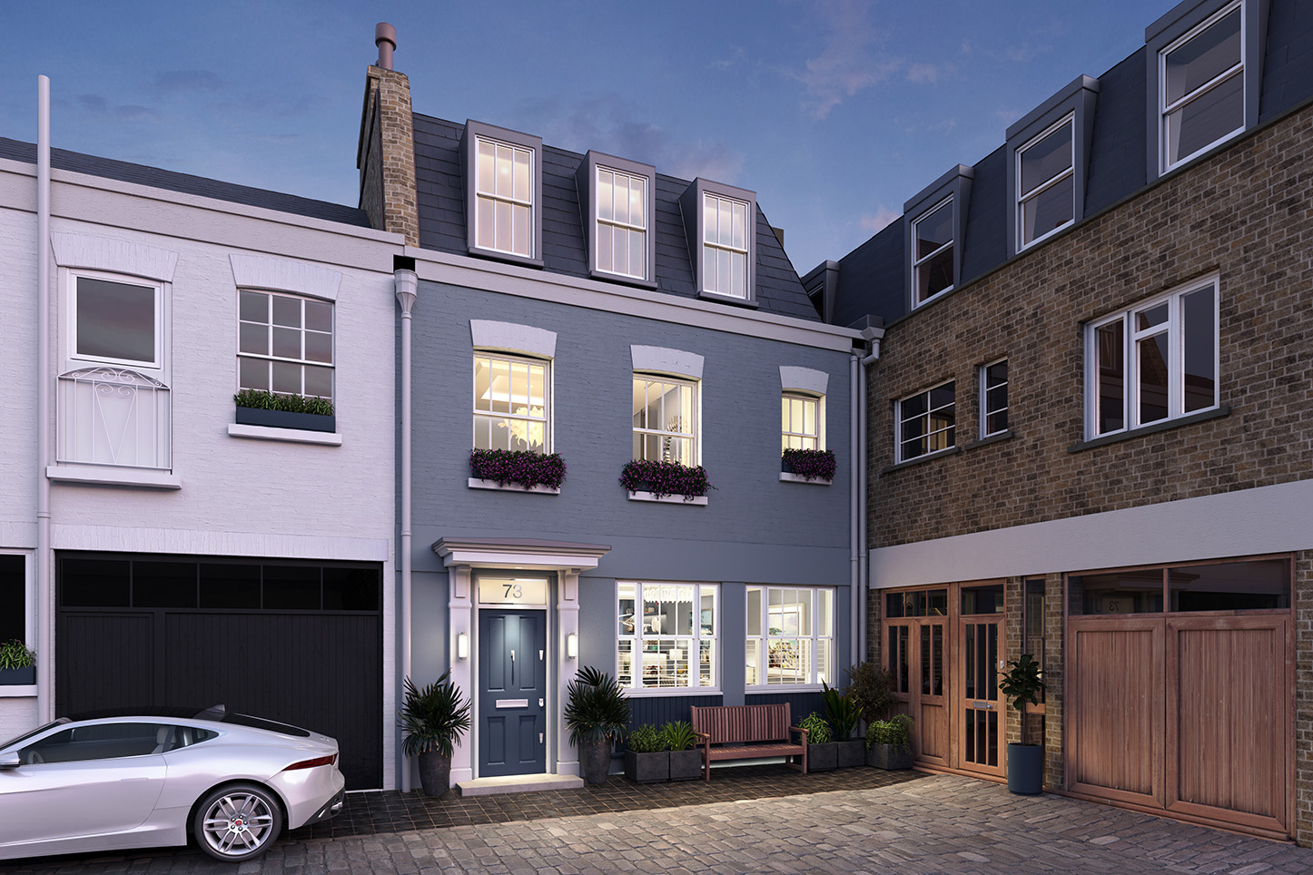 Flashforward - London Mews House
